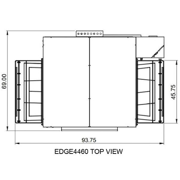 Edge 4460 Top View