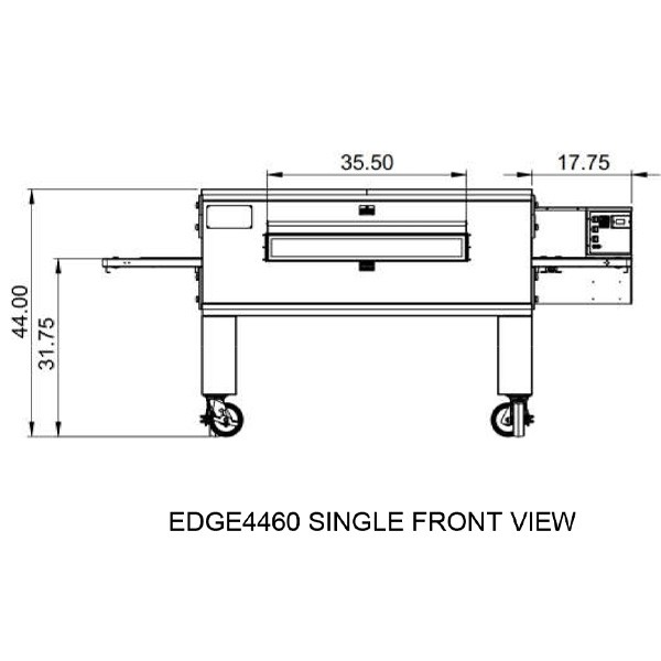 Edge 4460  Single view