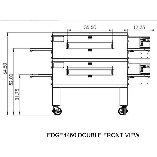 Edge 4460 Double view