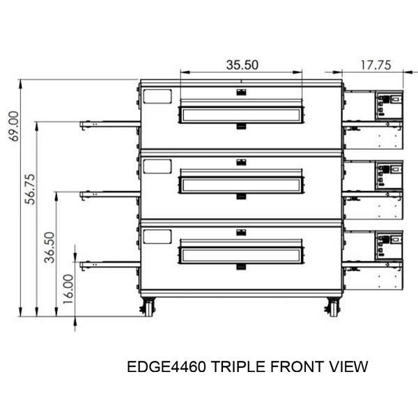 Edge 4460 Triple view