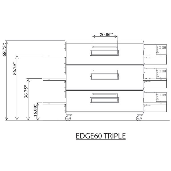 Edge 3260 Triple View