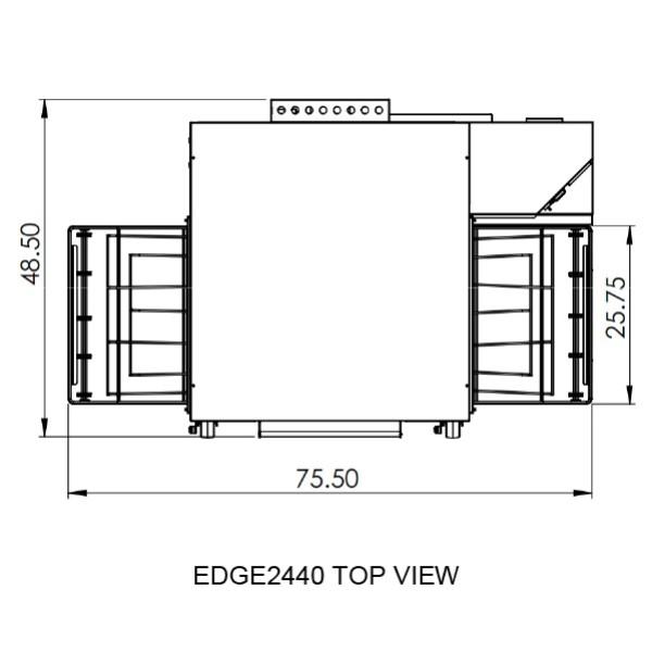 Edge 2440 Top View
