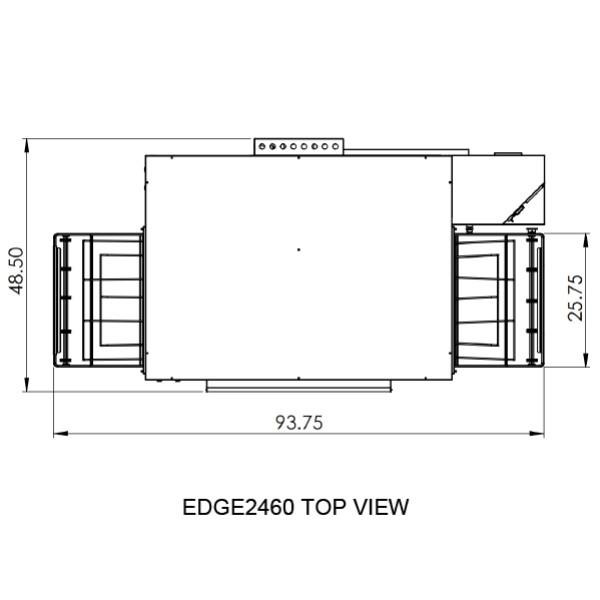Edge 2460 Top View
