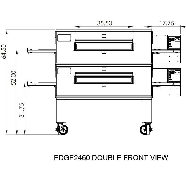 Edge 2460 Double View