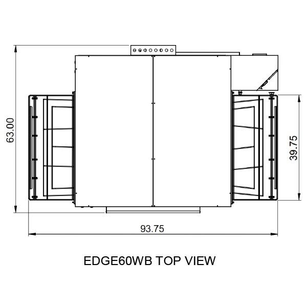 Edge 3860 Top View