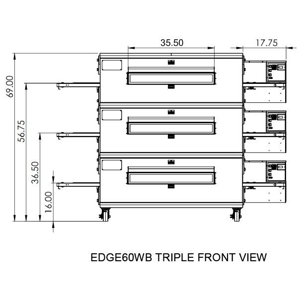 Edge 3860 Triple View